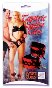 California Exotics Satin Wrist Cuffs